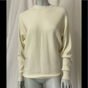 Zara Knit High Neck Ribbed ZIP at Back Sweater